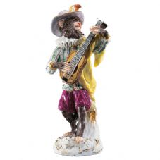 Meissen Monkey Band - Figurine of a Guitarist